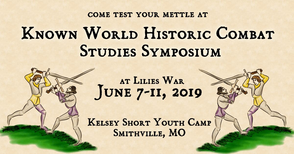 Known World Historic Combat Studies Symposium